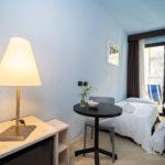 Camera Classic interni color tuchese Hotel Corallo di Rimini
