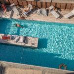 La Piscina dell'Hotel Corallo a Rimini