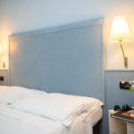 Letto confortevole all'Hotel Corallo a Rimini