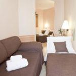 camere con balcone hotel corallo rimini