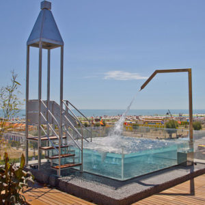 hotel con piscina a rimini