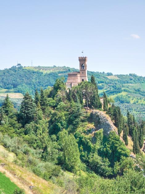 Castello entroterra Rimini