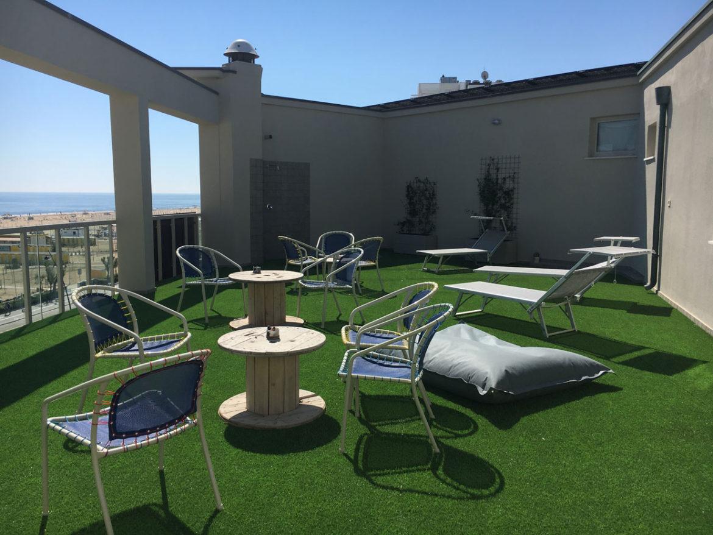 terrazzo hotel corallo rimini