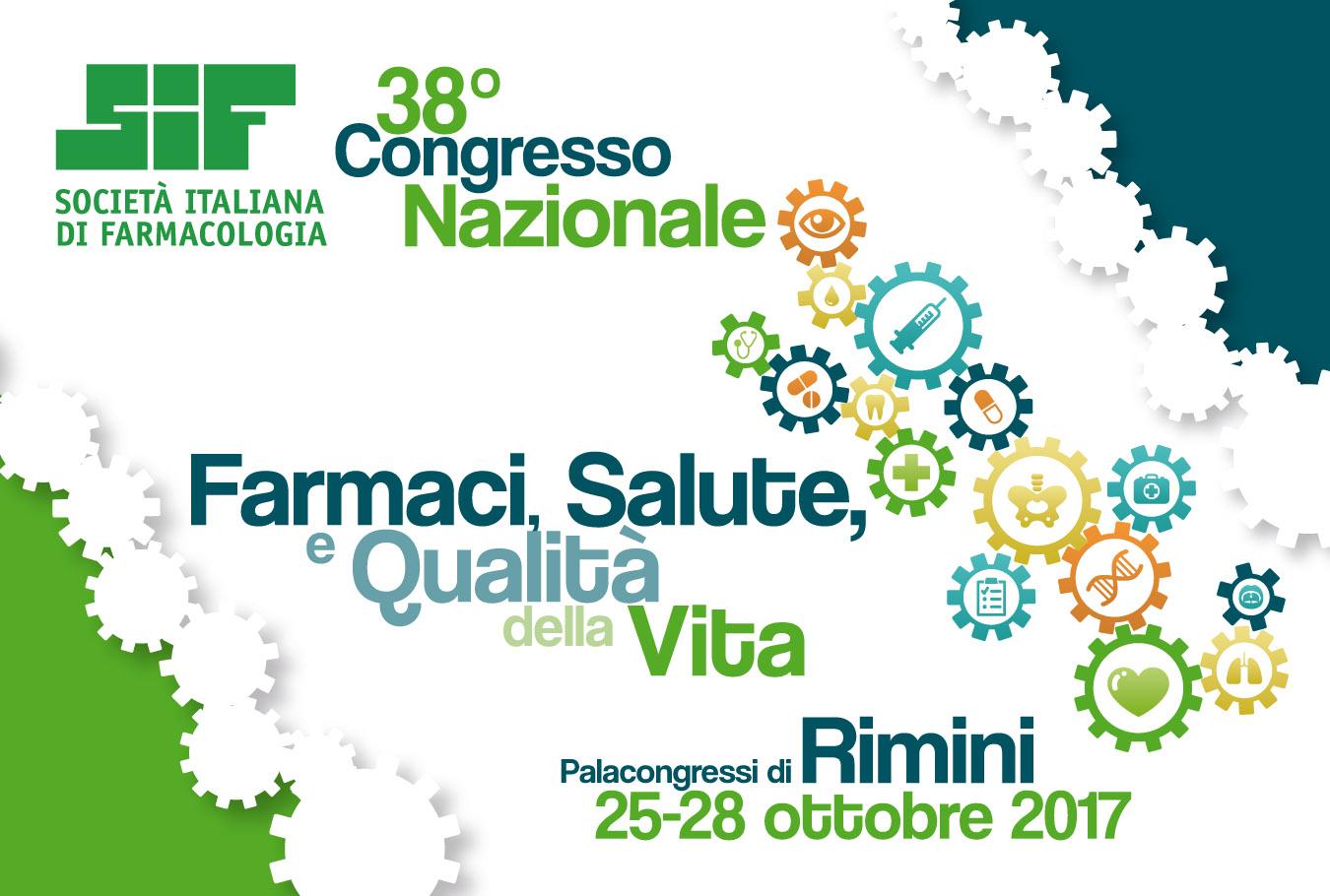 SIF 2017: 38° Congresso Nazionale della Società Italiana di Farmacologia | Hotel Corallo Rimini