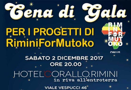 cena di beneficenza Rimini for mutoko