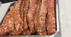 puntine di maiale marinate