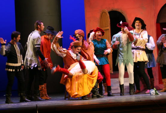 kiss me kate musical hotel corallo rimini