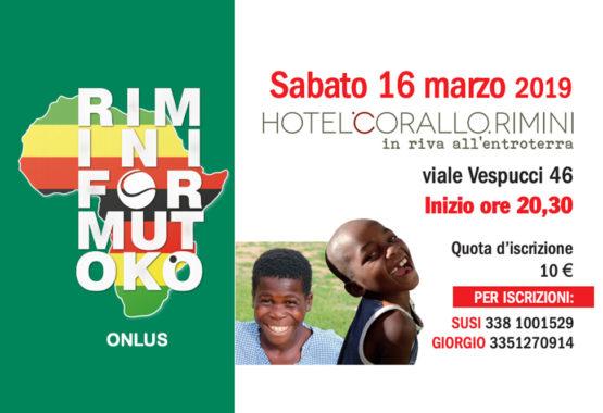 Rimini for Mutoko 2019: non perdevi il torneo di burraco del 16 marzo! thumb