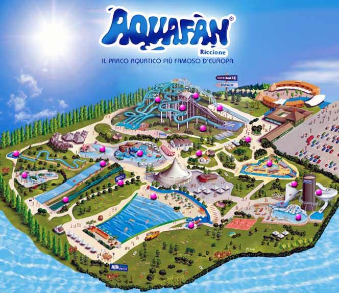aquafan 2019 hotel corallo rimini